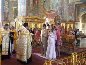 mariage église russe